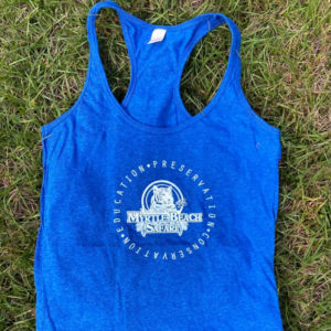 Blue Womens Tank - Stay Wild