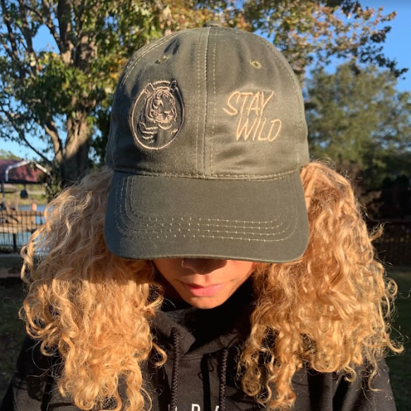 Tiger Dad Hats - Olive Green